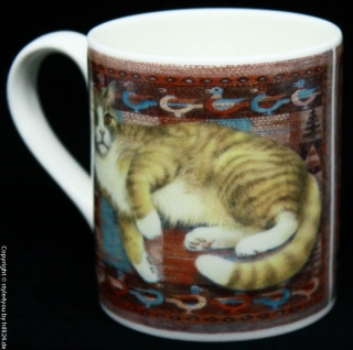 Roy Kirkham Henkelbecher Typ Larch  Ivory Cats - D2