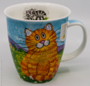 Dunoon Kaffeebecher Happy Cats Ginger, Nevis, 0,48 l