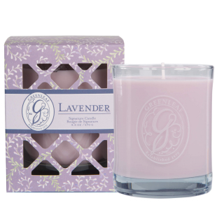 Box Jar Candle Lavender
